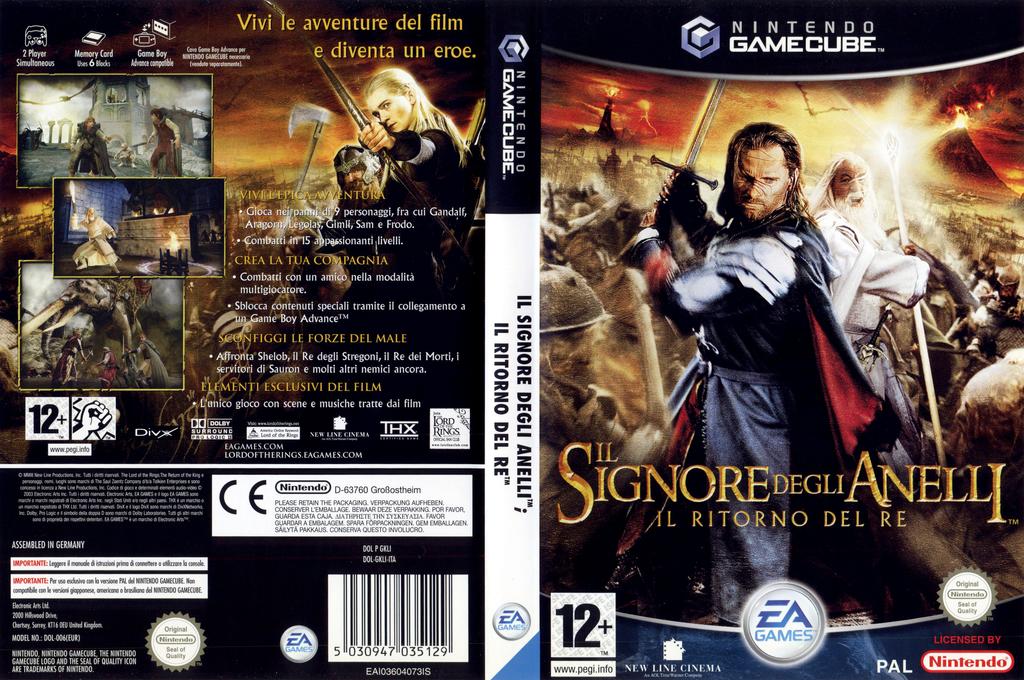 Il Signore degli Anelli: Il ritorno del Re Wii coverfullHQ (GKLI69)