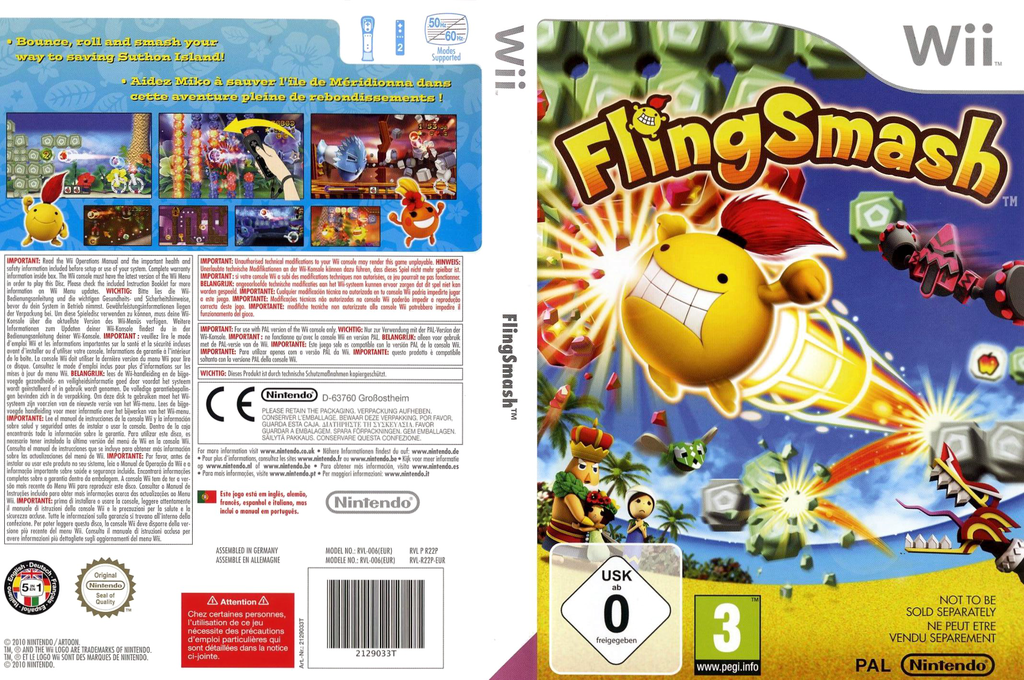 FlingSmash Wii coverfullHQ (R22P01)