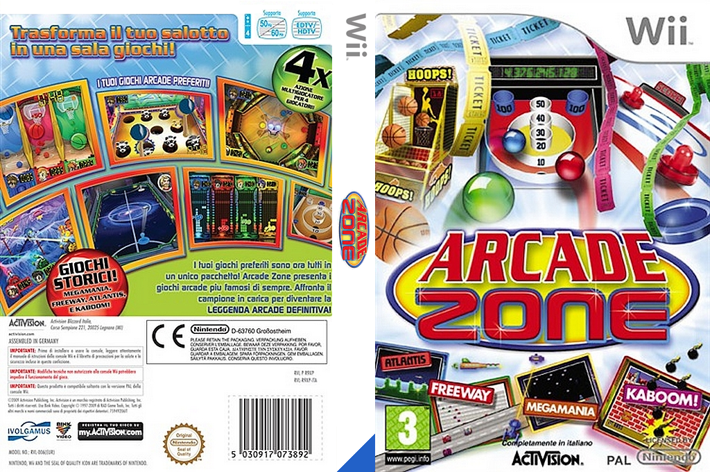Arcade Zone Wii coverfullHQ (R9XP52)