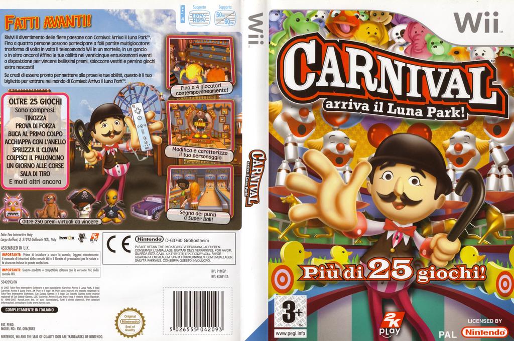 Carnival: Arriva il Luna Park! Wii coverfullHQ (RCGP54)