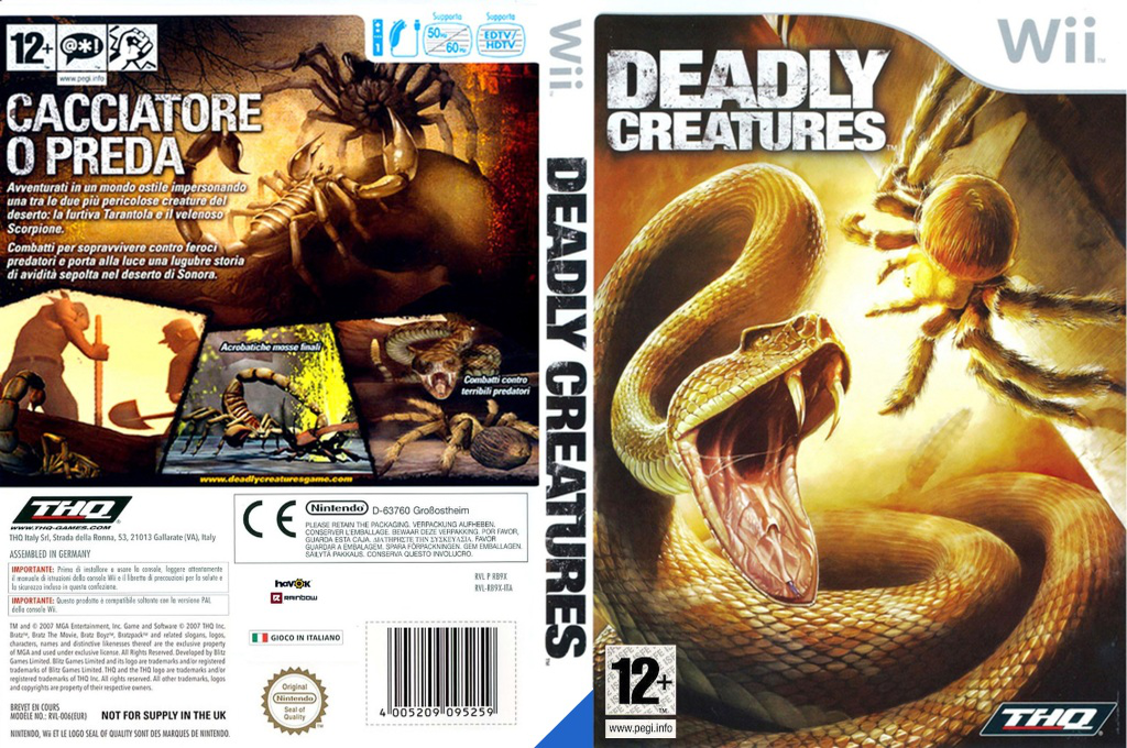 Deadly Creatures Wii coverfullHQ (RDCP78)