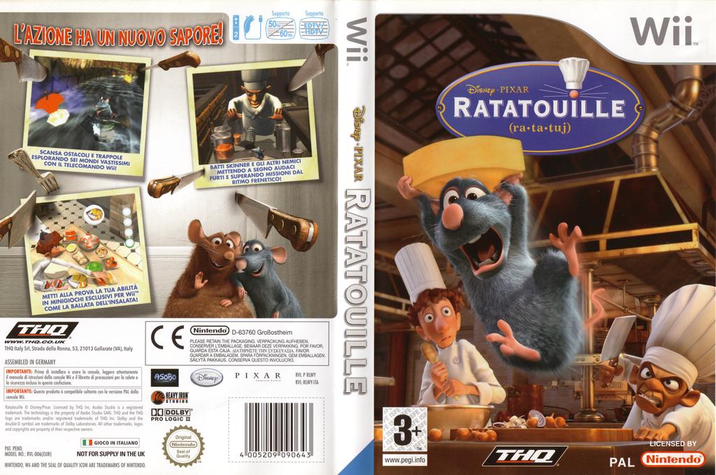 Ratatouille Wii coverfullHQ (RLWY78)