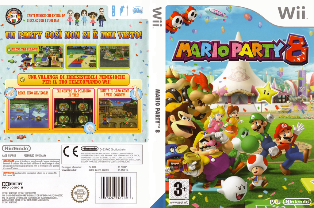 Mario Party 8 Wii coverfullHQ (RM8P01)