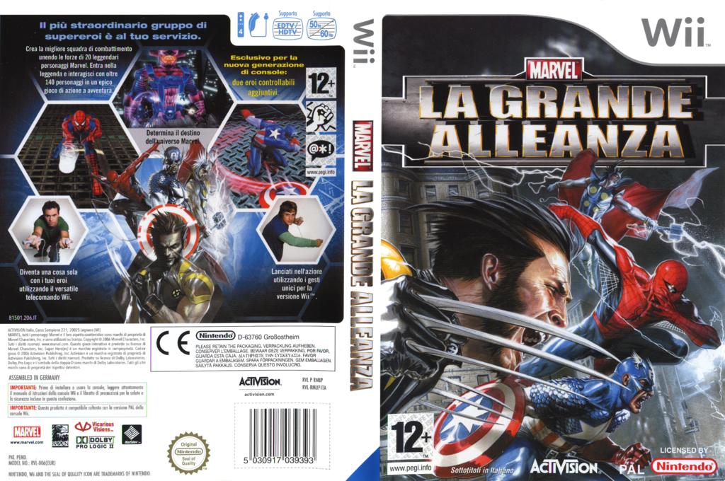 Marvel: La Grande Alleanza Wii coverfullHQ (RMUP52)
