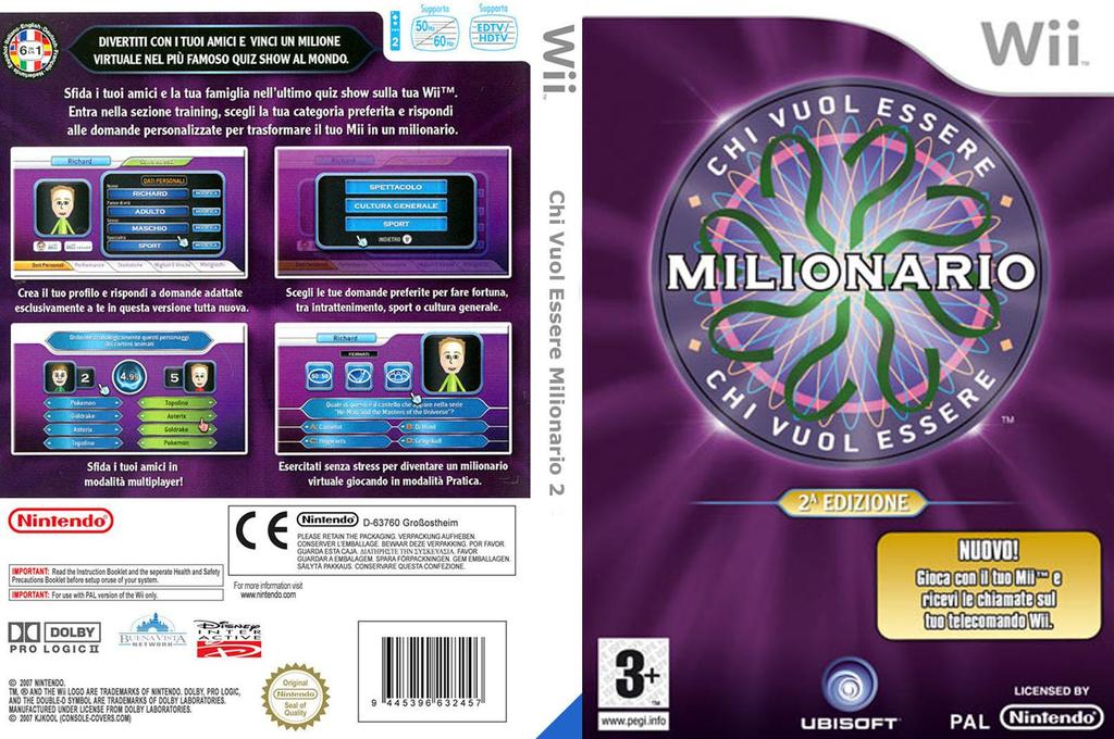 Chi Vuol Essere Milionario: 2a Edizione Wii coverfullHQ (RW5P41)