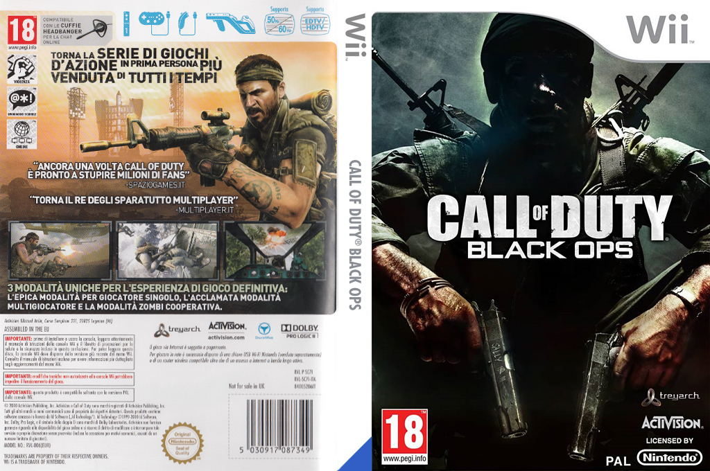 Call of Duty: Black Ops Wii coverfullHQ (SC7I52)