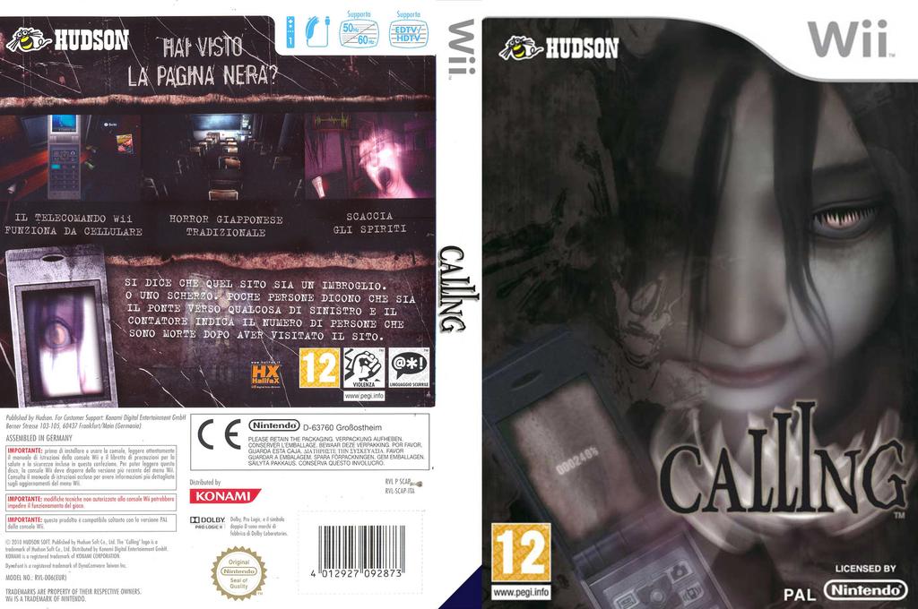 Calling Wii coverfullHQ (SCAP18)