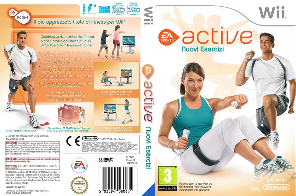 EA Sports Active: Nuovi Esercizi Wii coverfullHQ (SEAP69)