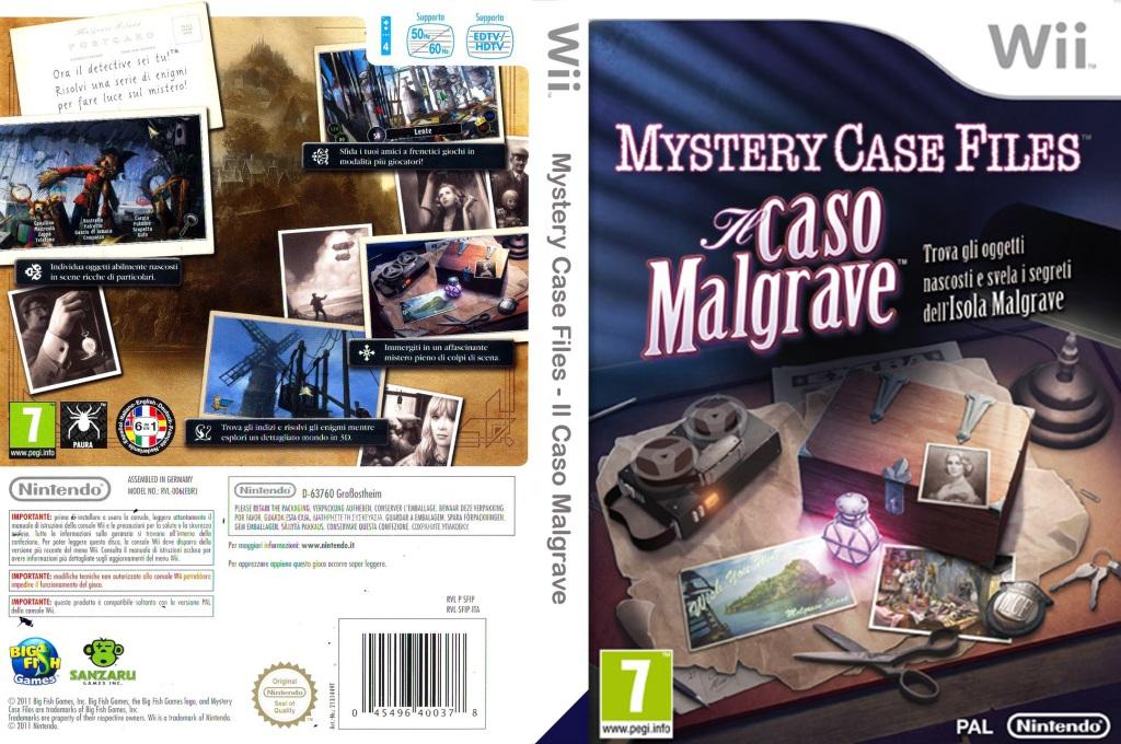 Mystery Case Files:Il Caso Malgrave Wii coverfullHQ (SFIP01)