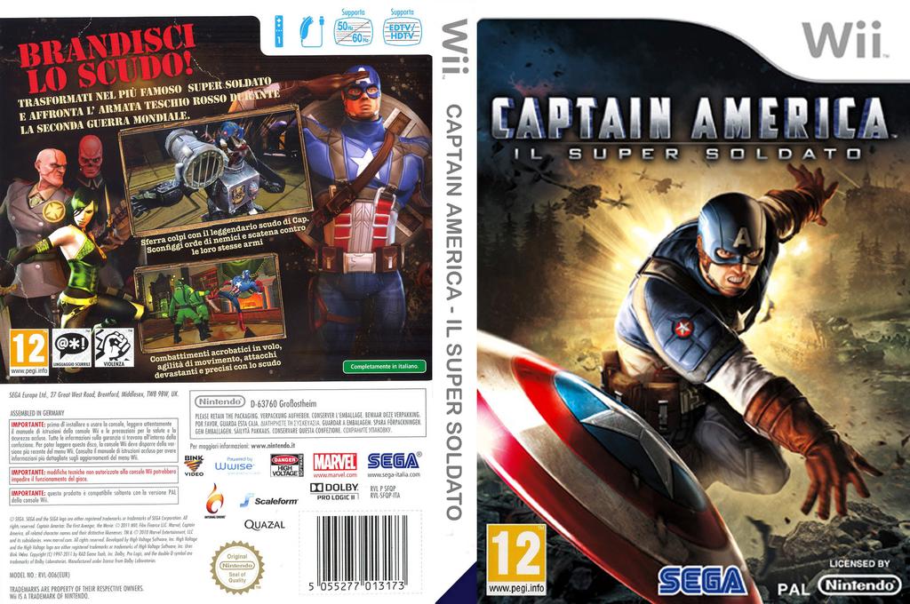 Captain America:Il Super Soldato Wii coverfullHQ (SFQP8P)