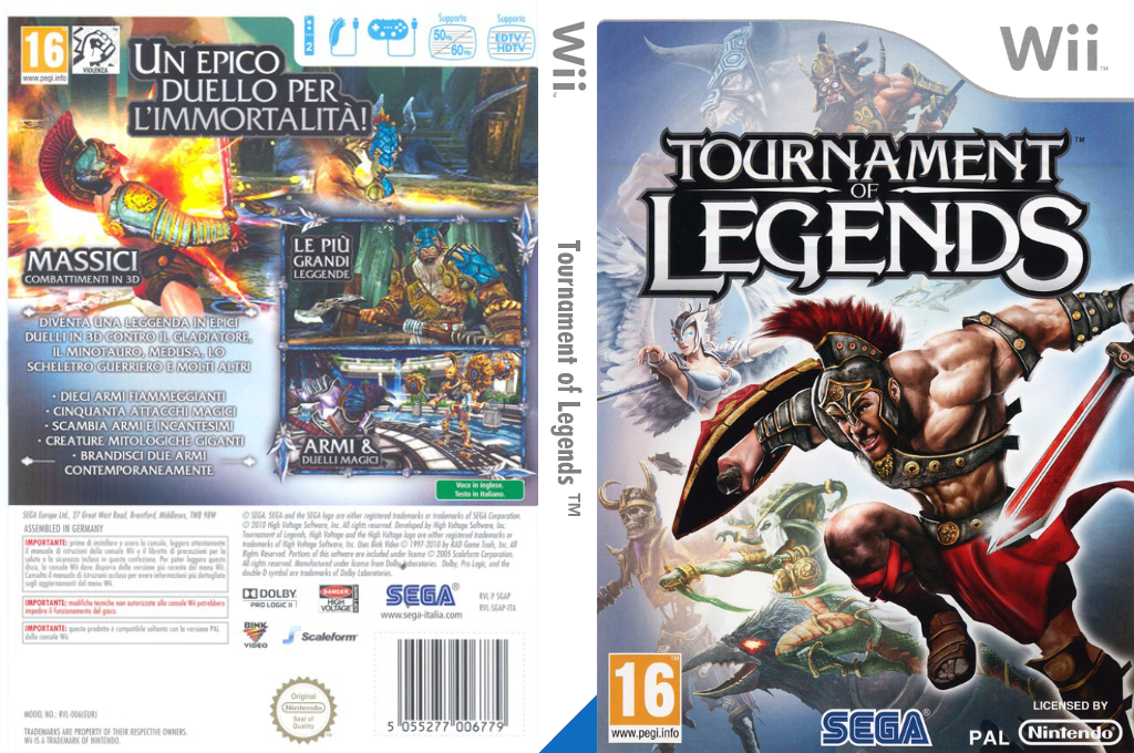 Tournament of Legends Wii coverfullHQ (SGAP8P)
