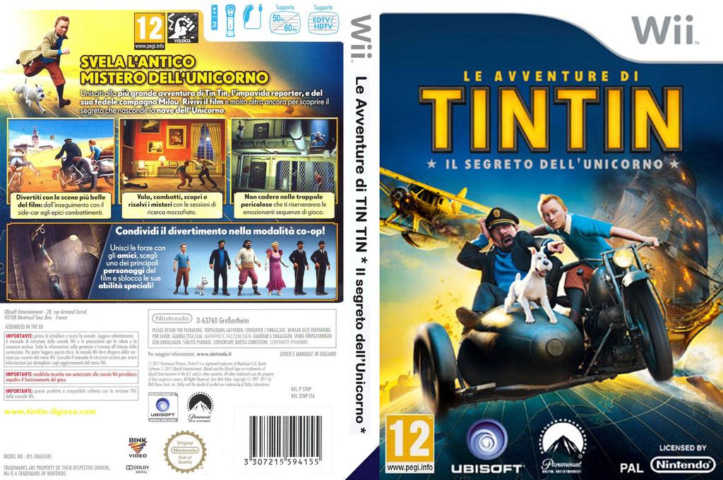 Le Avventure di Tintin: Il segreto dell'Unicorno Array coverfullHQ (STNP41)