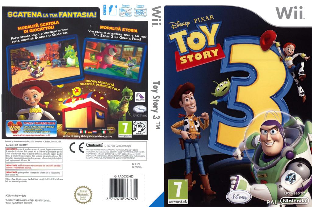 Toy Story 3: Il Videogioco Wii coverfullHQ (STSY4Q)
