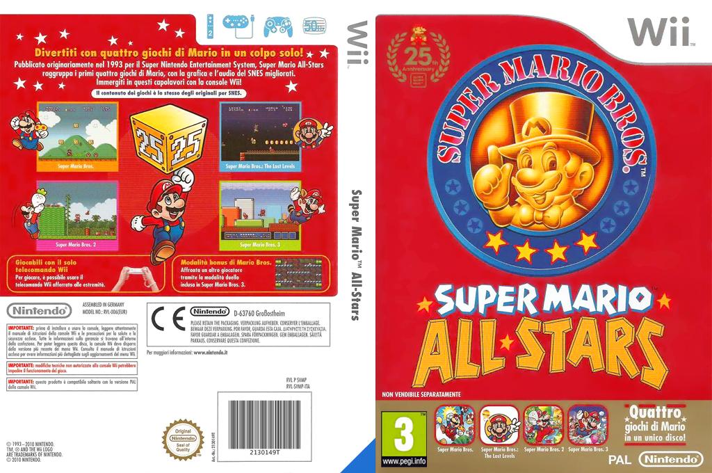 Super Mario All-Stars: Edizione per il 25° anniversario Wii coverfullHQ (SVMP01)