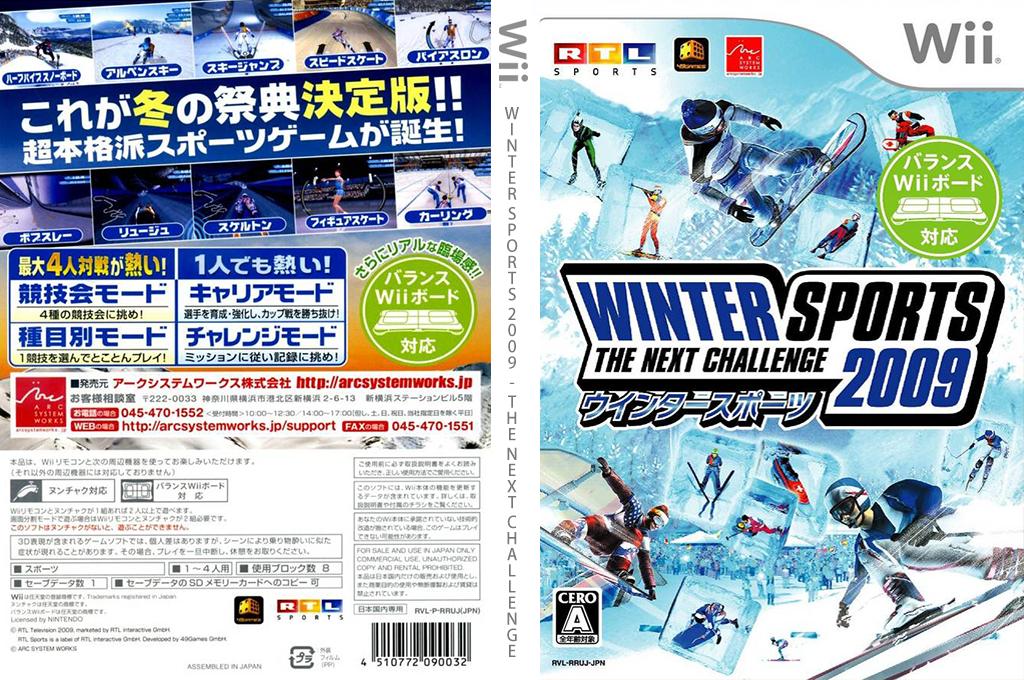 WINTER SPORTS 2009 - THE NEXT CHALLENGE Wii coverfullHQ (RRUJJF)