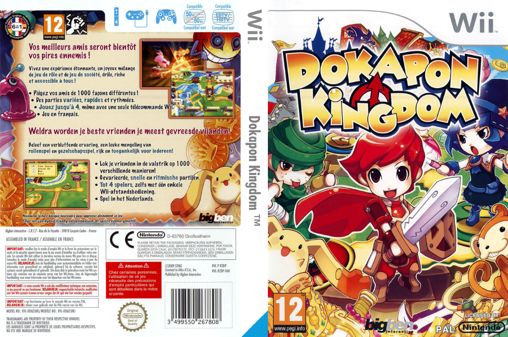 Dokapon Kingdom Wii coverfullHQ (R2DPJW)