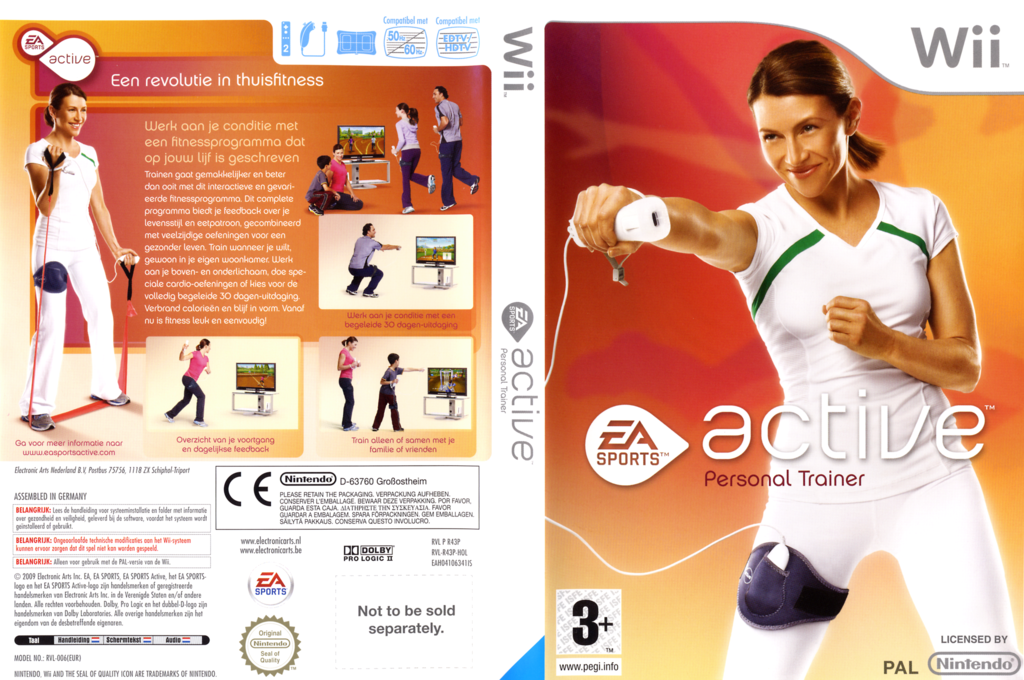 EA Sports Active: Personal Trainer Wii coverfullHQ (R43P69)