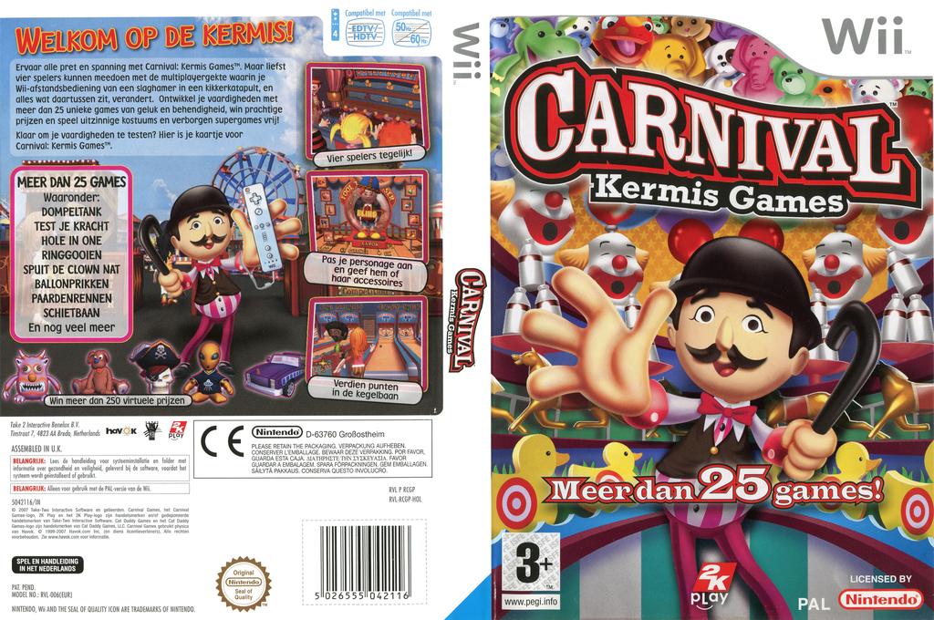 Carnival: Kermis Games Wii coverfullHQ (RCGP54)