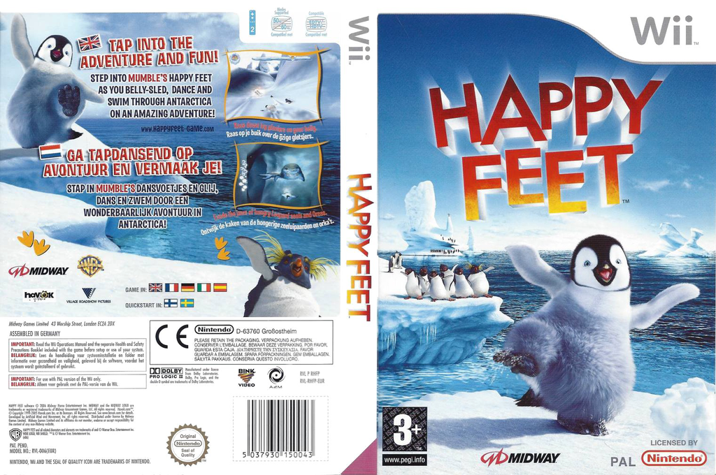 Happy Feet Wii coverfullHQ (RHFP5D)