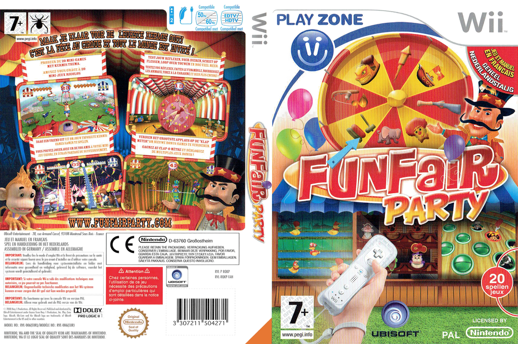Fun Fair Party Wii coverfullHQ (RQKP41)