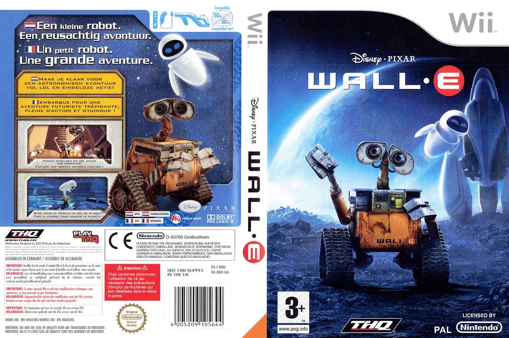WALL•E Wii coverfullHQ (RWAY78)