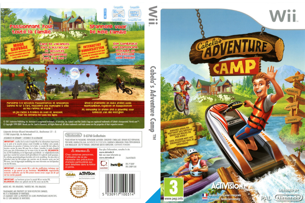 Cabela's Adventure Camp Array coverfullHQ (SH8P52)