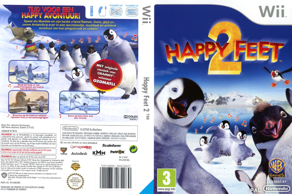 Happy Feet 2 Wii coverfullHQ (SHXPWR)