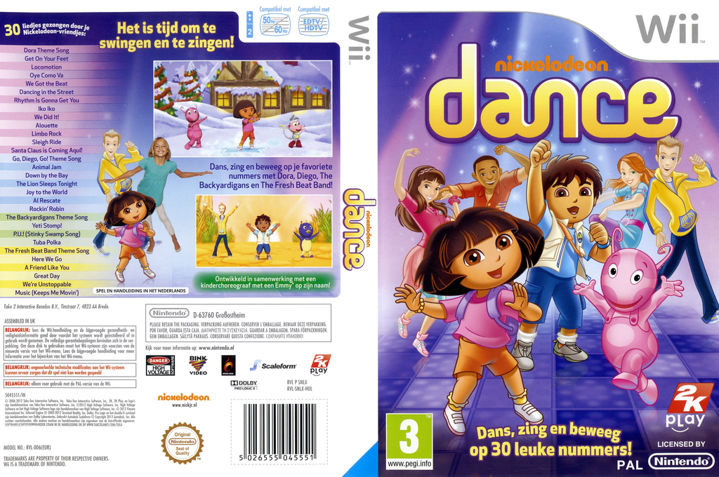 Nickelodeon Dance Array coverfullHQ (SNLX54)
