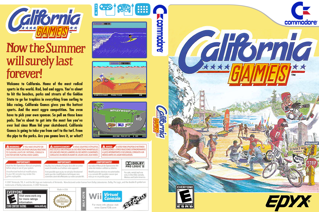 California Games Wii coverfullHQ (C97E)