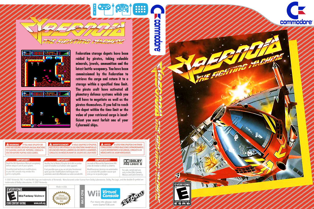 Cybernoid Wii coverfullHQ (C9IE)