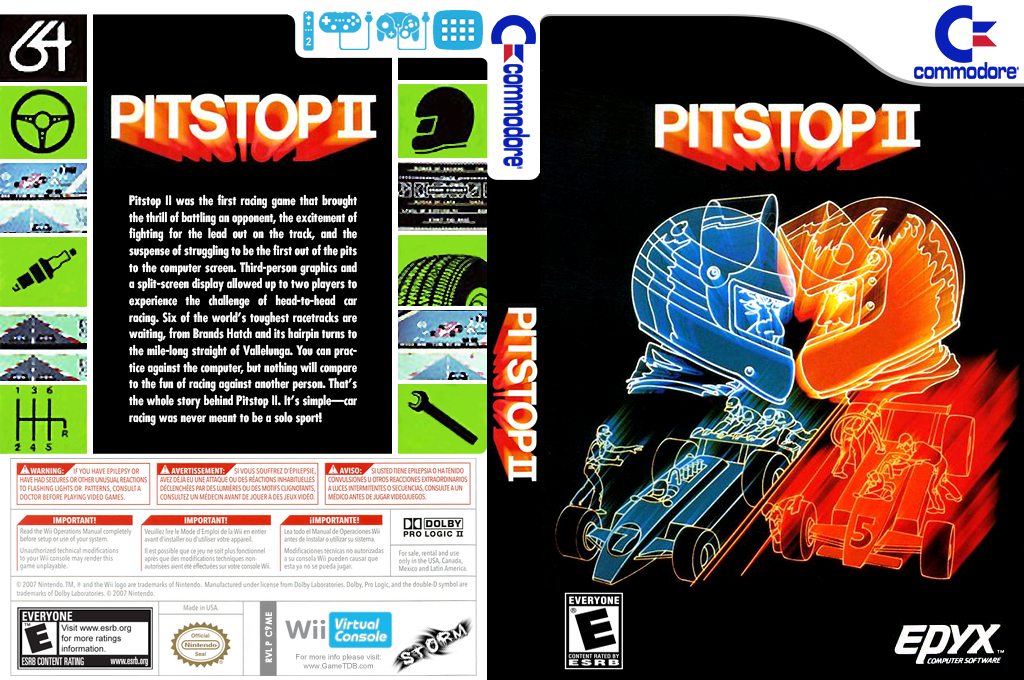 Pitstop II Wii coverfullHQ (C9ME)
