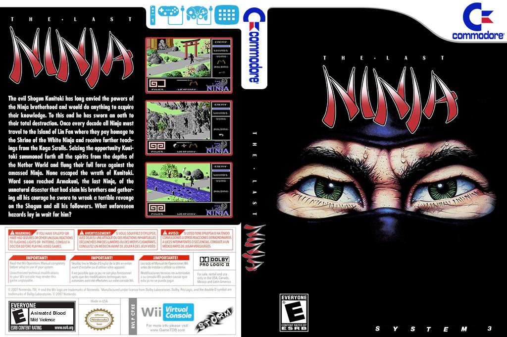 The Last Ninja Wii coverfullHQ (C9XE)