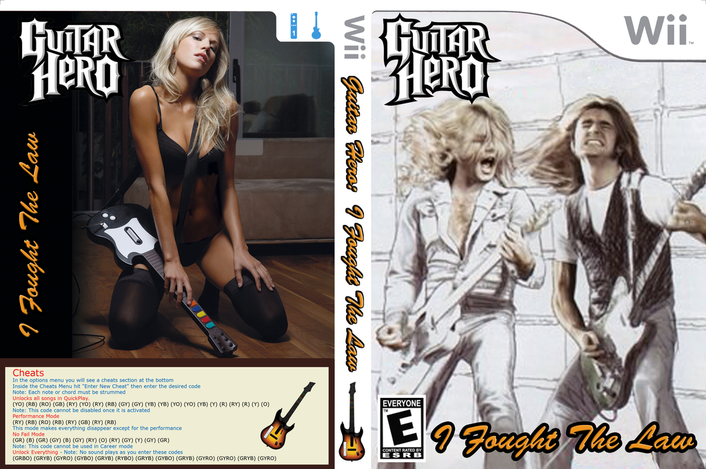 GH3: I Fought The Law Wii coverfullHQ (CGHE97)