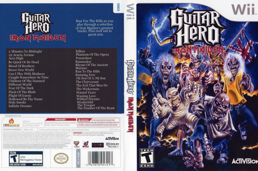 Guitar Hero III Custom:Iron Maiden Wii coverfullHQ (CGIE52)