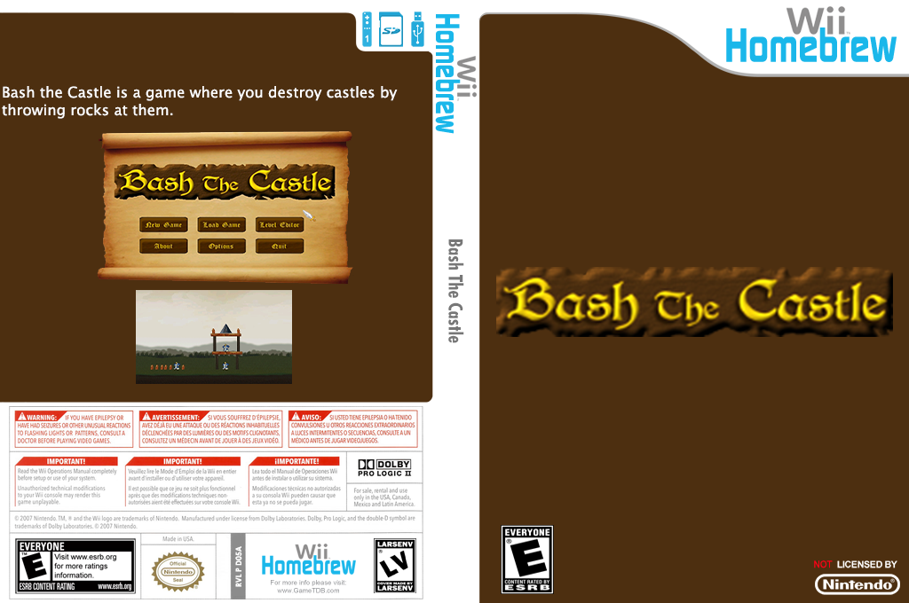 Bash the Castle Wii coverfullHQ (D05A)
