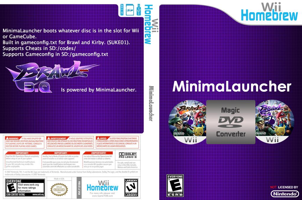 MinimaLauncher Wii coverfullHQ (D1RA)
