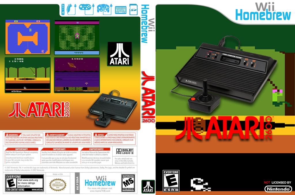 Wii2600 Array coverfullHQ (D26A)