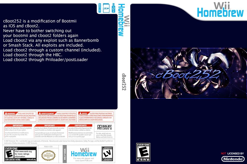 cboot252 Wii coverfullHQ (D52A)