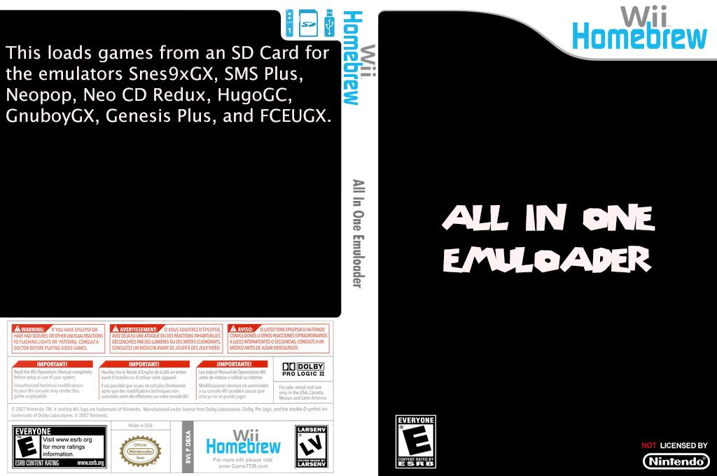 All In One Emuloader Wii coverfullHQ (D8XA)
