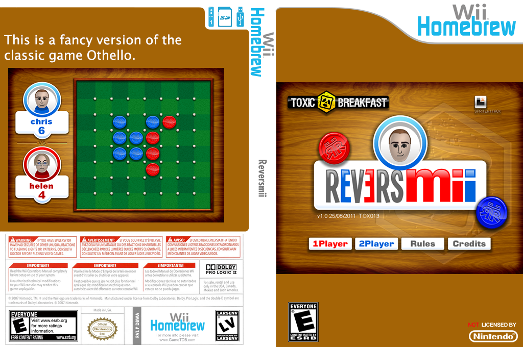 Reversmii Wii coverfullHQ (DBWA)