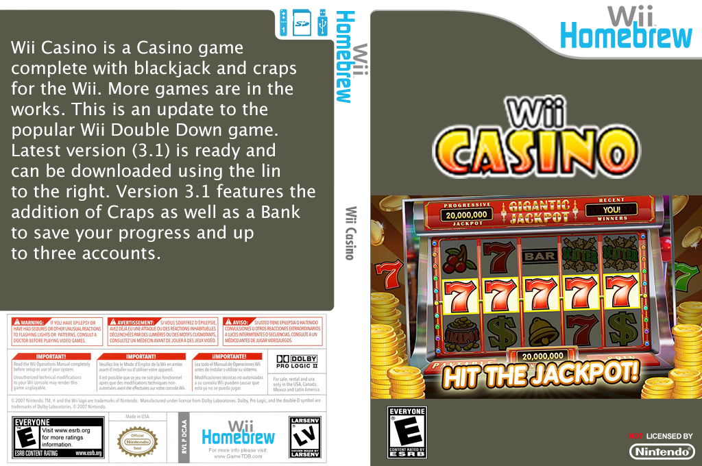 Wiicasino Wii coverfullHQ (DCAA)