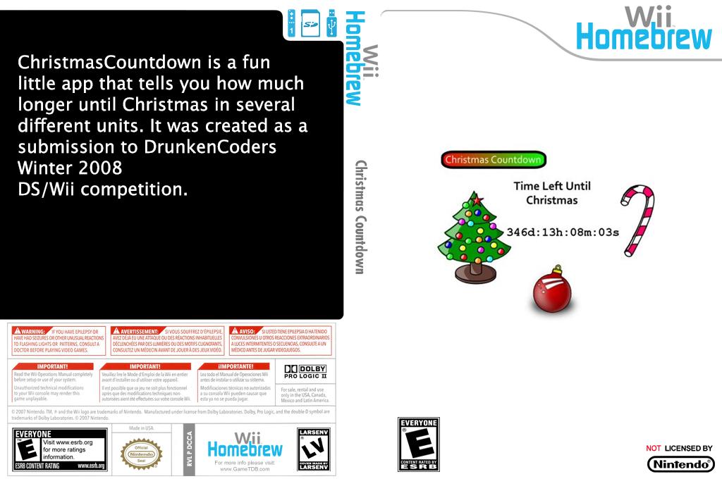 Christmascountdown Wii coverfullHQ (DCCA)