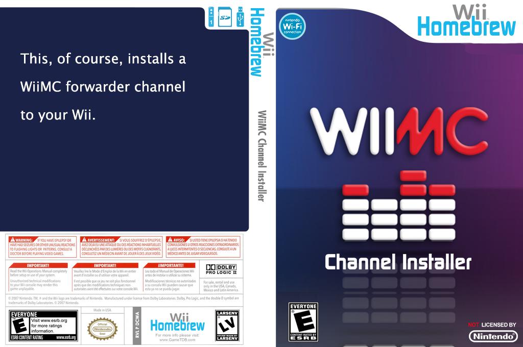 WiiMC Channel Installer Array coverfullHQ (DCWA)