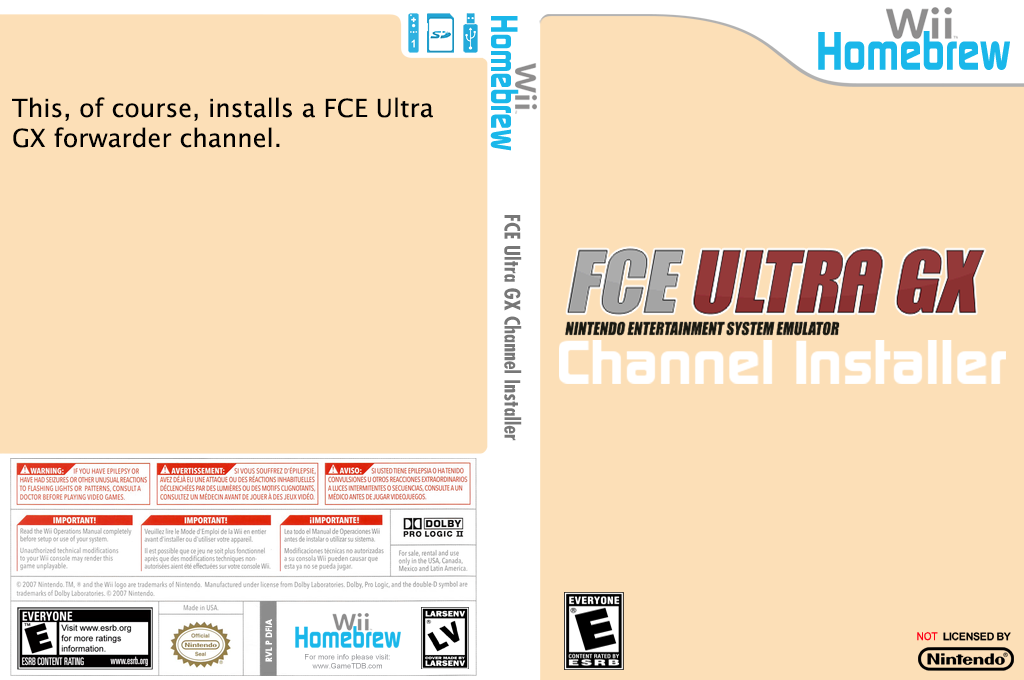 Fceugx Channel Installer Wii coverfullHQ (DFIA)
