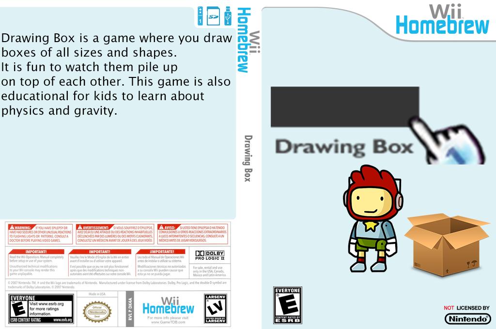 Drawingbox Wii coverfullHQ (DK4A)