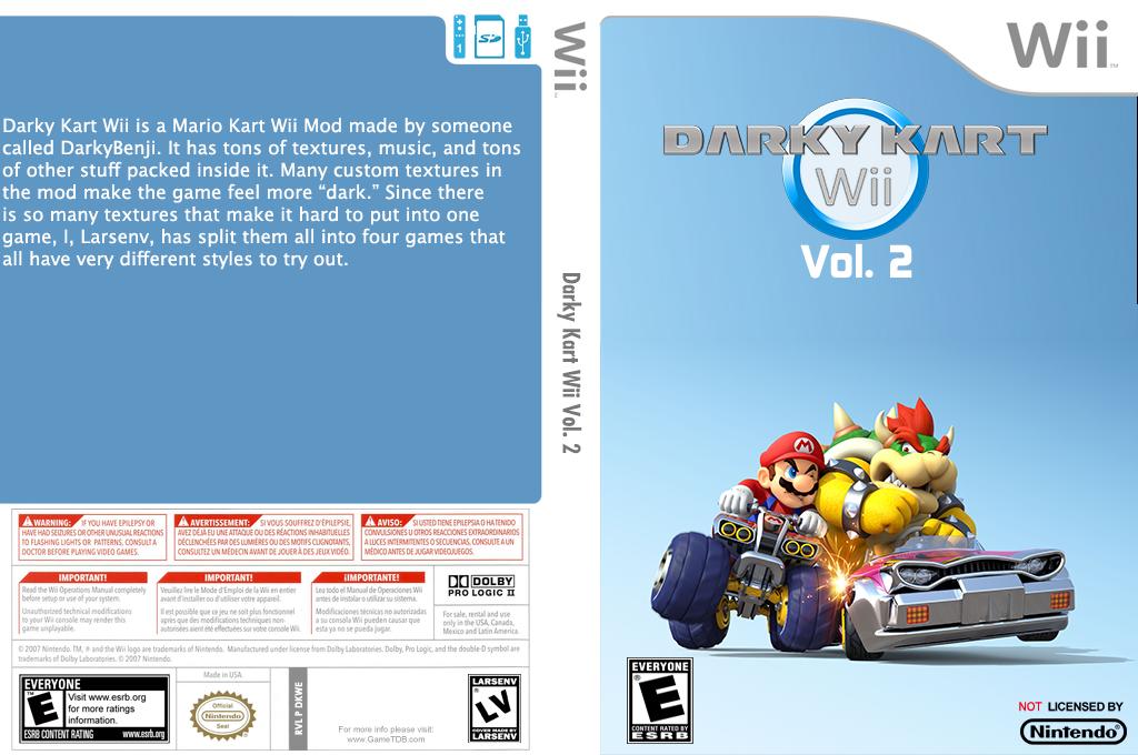Darky Kart Wii Vol. 2 Wii coverfullHQ (DKWE02)