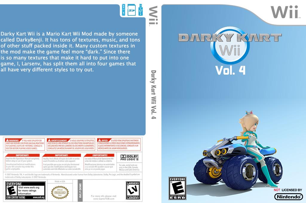 Darky Kart Wii Vol. 4 Wii coverfullHQ (DKWE04)
