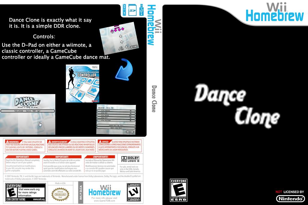 Dance Clone Wii coverfullHQ (DLCA)