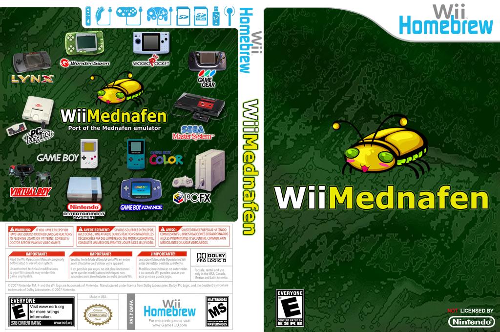 WiiMednafen Wii coverfullHQ (DMFA)