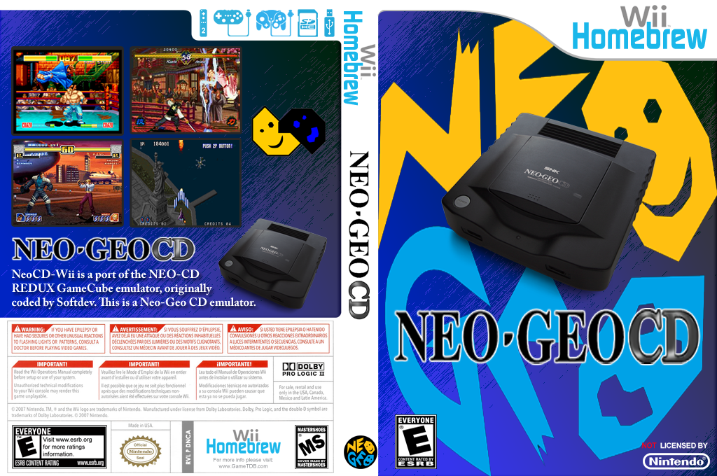 NeoCD-Wii Wii coverfullHQ (DNCA)